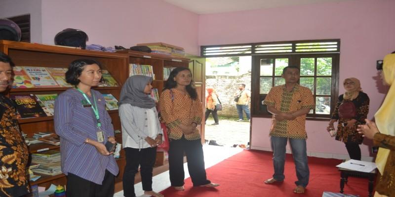 Penerimaan kunjungan kerja Kecamatan Pasar Kliwon Pemkot Surakarta