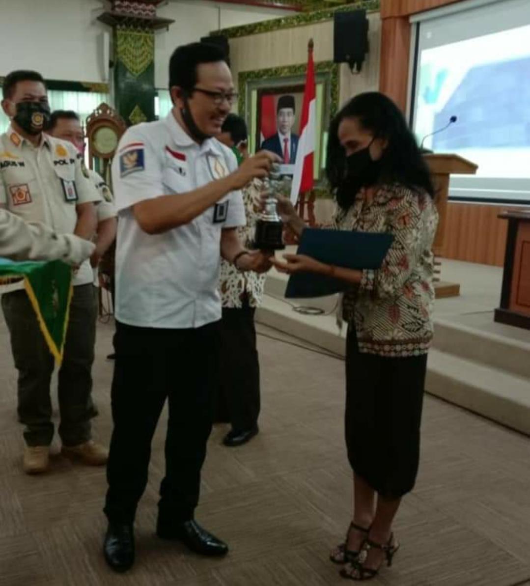Si Pantib Award untuk Kampung Panca Tertib Ledok Tukangan Kelurahan Tegalpanggung Berprestasi 2020