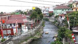 Pasar Kali Online warga kampung Ledok Tukangan  Yogyakarta.