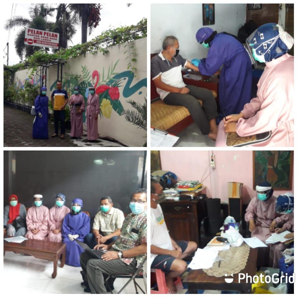 Kajian Seroepidemiologi Covid di Indonesia dengan sasaran RW 10 Kampung Tegal Kemuning Kelurahan Tegal Panggung